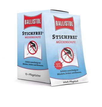Ballistol Stichfrei Tücher-Box    (10 Sachets)