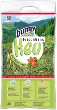 Bunny FrischGras Heu Hagebutten                     500 g