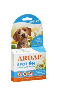Ardap Spot-On für Hunde unter 10 kg   3 x 1.0 ml
