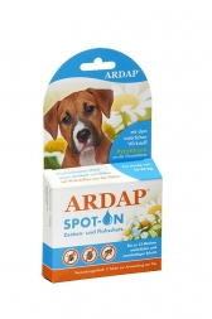 Ardap Spot-On für Hunde von 10-25 kg  3 x 2.5 ml