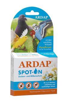 Ardap Spot-On für Ziervögel/Brieftauben  2 x 4.0 ml
