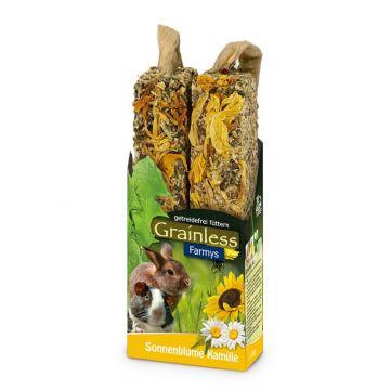 JR Farm FARMYs light Sonnenblume-Kamille 140g (Menge: 8 je Bestelleinheit)