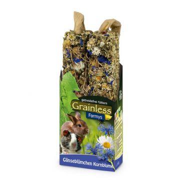 JR Farm FARMYs light Gänseblumchen-Kornblume 140g (Menge: 8 je Bestelleinheit)