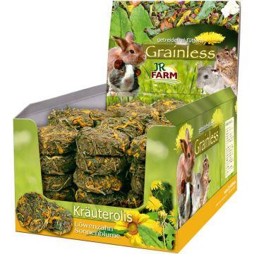 JR Grainless Kräuterolis Löwenzahn-Sonnenblume 70g (Menge: 10 je Bestelleinheit)