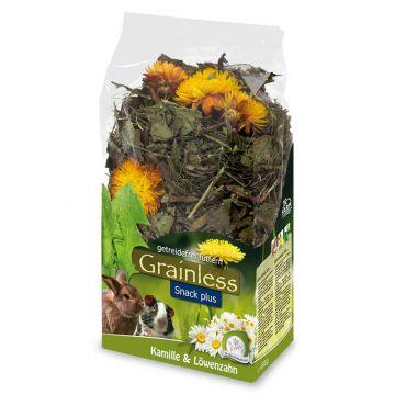JR Farm Grainless Plus Kamille & Löwenzahn 100g (Menge: 6 je Bestelleinheit)