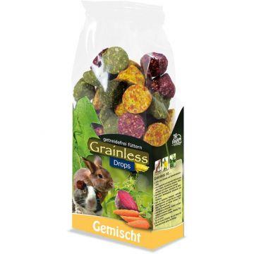 JR Farm Grainless Drops gemischt 140g  (Menge: 8 je Bestelleinheit)