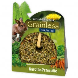JR Farm Grainless Kräuter-Rad Karotte-Peters. 140g (Menge: 4 je Bestelleinheit)
