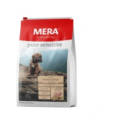 MeraDog Pure Sensitive Junior Truthahn & Reis 12,5kg