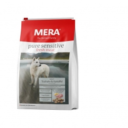 MeraDog Pure Sensitive Fresh Meat Truthahn & Kartoffel 4kg