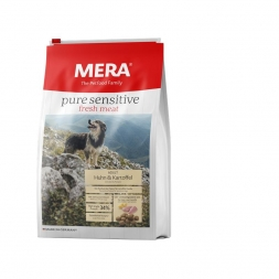 MeraDog Pure Sensitive Fresh Meat Huhn & Kartoffel 12,5kg