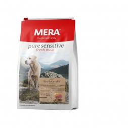 MeraDog Pure Sensitive Fresh Meat Rind & Kartoffel 4kg
