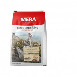 MeraDog Pure Sensitive Fresh Meat Mini Huhn & Kartoffel 1kg