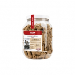 MeraDog Pure Sensitive Goody Snack Truthahn & Reis 600g