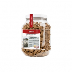 MeraDog Pure Sensitive Goody Snack Truthahn & Kartoffel 600g