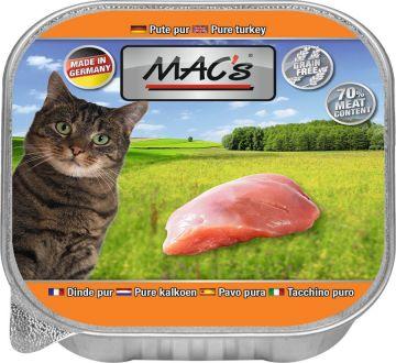 MACs Cat Pute Pur 85g (Menge: 16 je Bestelleinheit)