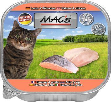 MACs Cat Lachs & Hühnchen 85g (Menge: 16 je Bestelleinheit)