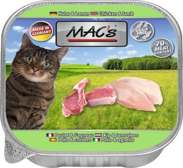 MACs Cat Huhn & Lamm 85g (Menge: 16 je Bestelleinheit)