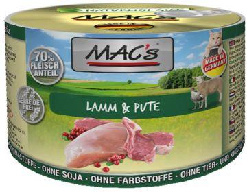 MACs Cat Lamm & Pute 200g (Menge: 6 je Bestelleinheit)