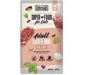 MACs Cat Pouch Pack Kalb & Cranberry 100g (Menge: 12 je Bestelleinheit)