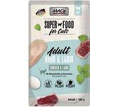 MACs Cat Pouch Pack Huhn & Lamm 100g (Menge: 12 je Bestelleinheit)