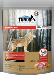 Tundra Trockenfutter Senior/Light 750 g