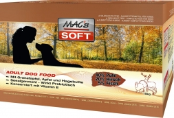 MACs Dog Soft Pute & Hirsch 1 x 5 kg