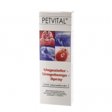 Canina Pharma PETVITAL Ungeziefer-Umgebungsspray 500ml