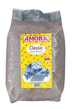 AMORA Katzenstreu Classic unser Bestes 15 Liter