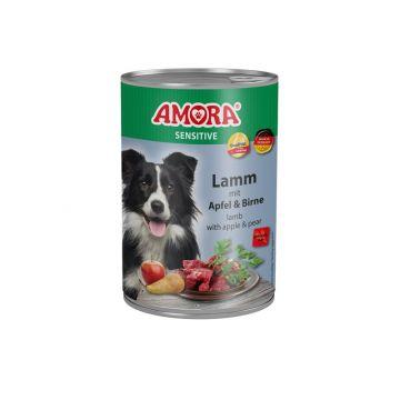 AMORA Dog Sensitive getreidefrei Lamm & Apfel 400g (Menge: 6 je Bestelleinheit)