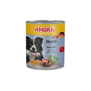 AMORA Dog Sensitive Huhn & Karotte 800g (Menge: 6 je Bestelleinheit)