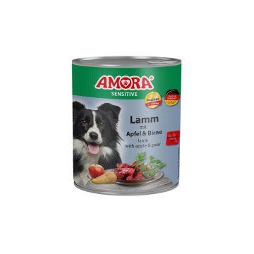 AMORA Dog Sensitive getreidefrei Lamm & Apfel 800g (Menge: 6 je Bestelleinheit)