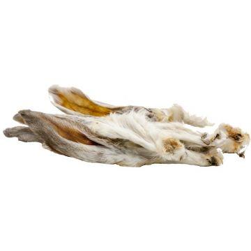 Classic Dog Snack Kaninchenohren mit Fell 100g im Beutel