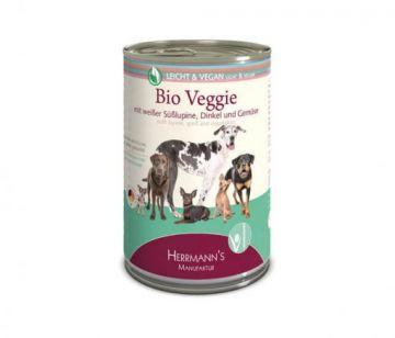 Herrmanns Dog Light Bio-Veggie Dinkel & Gemüse 400g (Menge: 12 je Bestelleinheit)