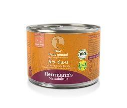 Herrmanns Cat Dose Bio-Gans, Zucchini & Tomate 200g (Menge: 12 je Bestelleinheit)