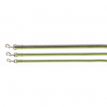 Trixie Freshline Leine Spot, L-XL: 1,00 m/25 mm, taupe/hellgrün/grau