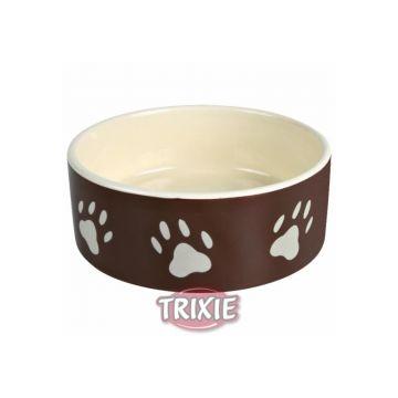 Trixie Napf mit Pfoten 0,3 l  12 cm