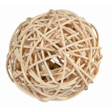 Trixie Weidenball mit Schelle  4 cm