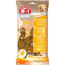 8in1 MINIS Turkey & Pumpkin 100 g