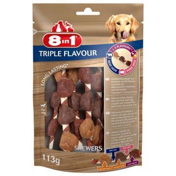 8 in1 Triple Flavour Skewers 6 Stück