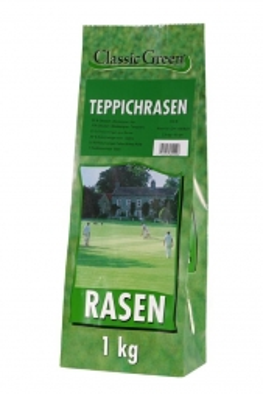 Classic Green Teppichrasen Papierbeutel 1kg (Menge: 10 je Bestelleinheit)