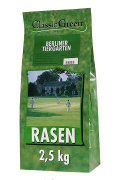 Classic Green Rasen Berliner Tiergarten Plastikbeutel 2,5kg (Menge: 4 je Bestelleinheit)