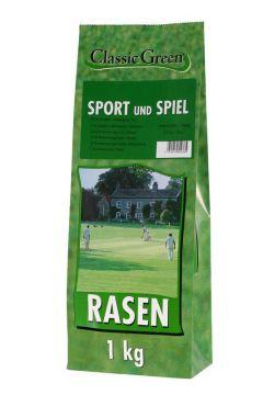 Classic Green Rasen Sport & Spiel Plastikbeutel 1kg (Menge: 10 je Bestelleinheit)