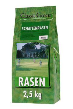 Classic Green Rasen Schattenrasen Plastikbeutel 2,5kg (Menge: 4 je Bestelleinheit)