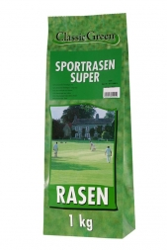 Classic Green Sportrasen Super Papierbeutel 1kg (Menge: 10 je Bestelleinheit)