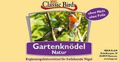 Classic Bird Gartenknödel NATUR 30er Knödel im Eimer ohne Netz & ohne Folie
