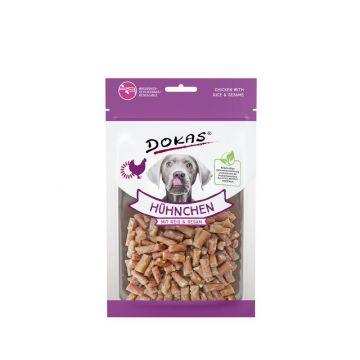 Dokas Dog Hühnchen mit Reis und Sesam 70 g (Menge: 12 je Bestelleinheit)