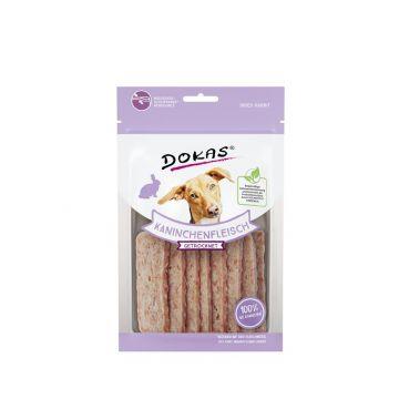 Dokas Dog Kaninchenfleisch getrocknet 70 g (Menge: 12 je Bestelleinheit)