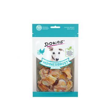 Dokas Dog Hühnerbrustfilet mit Apfel 70 g (Menge: 8 je Bestelleinheit)