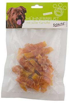 Dokas Dog Hühnerbrust mit Süßkartoffel 70 g (Menge: 10 je Bestelleinheit)