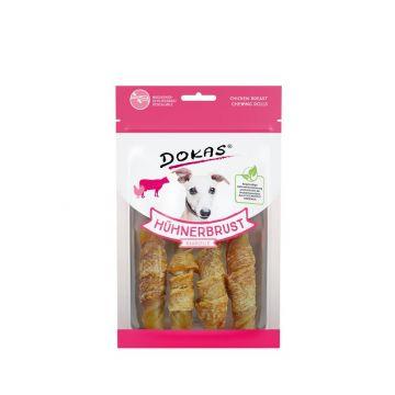 Dokas Dog Hühnerbrust Kaurolle 90 g (Menge: 10 je Bestelleinheit)